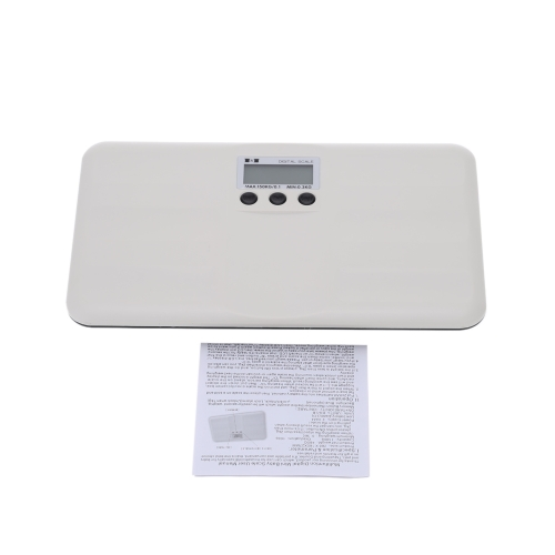 Escala de bebé Digital eléctrico portátil 150kg / 100g peso pantalla LCD de la herramienta