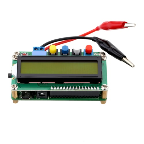 LC100-A Digital LCD High Precision Inductance Capacitance L/C Meter