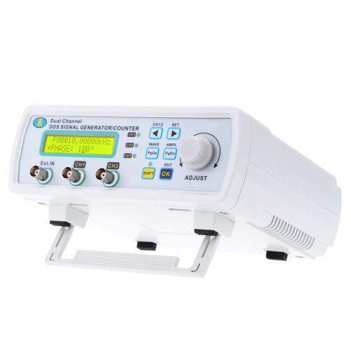 High Precision Digital DDS Dual-channel Signal Source Generator Arbitrary Waveform Frequency Meter 200MSa/s 25MHz