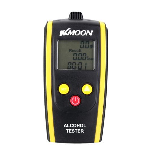 KKmoon Portable Digital Alcohol Tester Meter Detector Breathalyzer