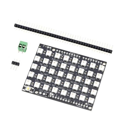 40 bits 5 * 8 WS2812B 5050 RGB LED built-in Full-color luzes desenvolvimento placa módulo do Driver