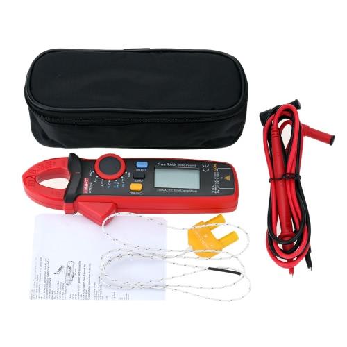 UNI-T UT210D Digital AC/DC Current Voltage Resistance Capacitance Clamp Meter