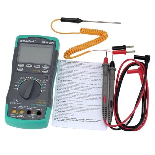 Цифровой мультиметр для ЖК-дисплея HoldPeak HP-890CN