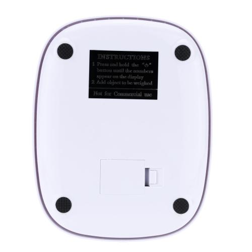 Мини Электронные весы профессиональный цифровой карман масштаба кухня масштаба пищи весом инструмент оранжевый/белый