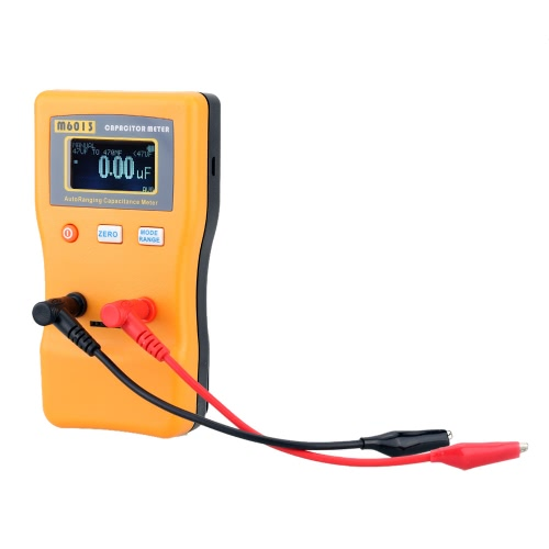 M6013 Высокий ESR точность конденсатор метр профессиональный измерения емкости конденсатор сопротивления цепи тестер