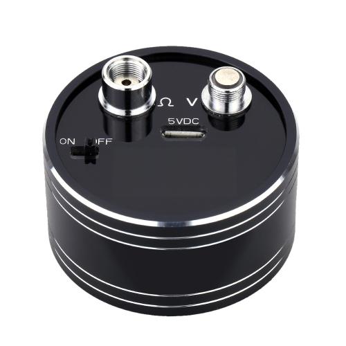 E-cigarette Ohm Reader Meter Resistance Voltage Tester 510 Thread for Atomizer USB DC 5V Cigarette Accessories