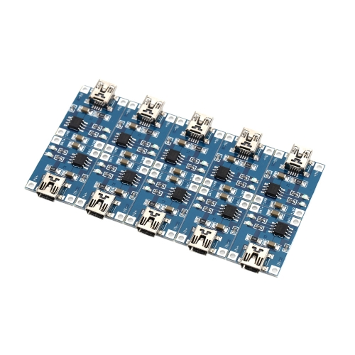 10pcs TP4056 5V Mini USB 1A Lithium Battery Charging Board Linear Charger Module