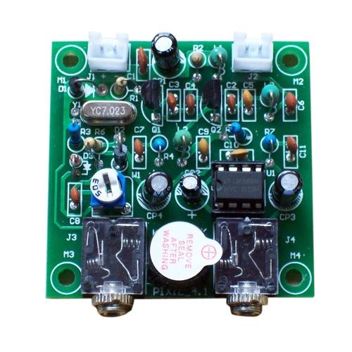 7.023MHz DIY PIXIE Kit CW Short Wave Ham Radio Telegraph Transceiver Transmitter Receiver