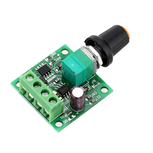 Low voltage dc pwm motor speed controller module 1 8v 3v for Low voltage motor control