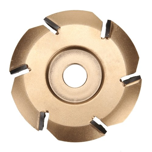 Six Tooth Woodworking Tea Tray Digging Wood Carving Disc Tool Milling Cutter
