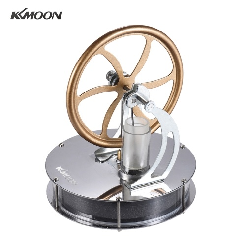 KKmoon Low Temperature Stirling Engine Motor Model Heat Steam Education Toy DIY Kit