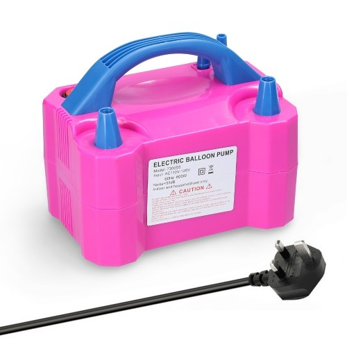 73005S 600W Electric Balloon Pump Inflator Dual Nozzle Balloon Pump Balloon Inflating Tool