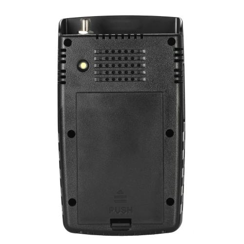 SATLINK WS-6916デジタル衛星ファインダーメーターHDデジタル衛星テレビファインダー携帯用ポーチとストラップ付きデジタル衛星信号ファインダーメーター