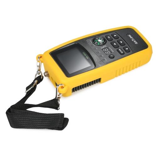 SATLINK WS6933 Digital Satellite Finder Meter with Compass Digital Satellite Signal Finder Meter with LCD Display