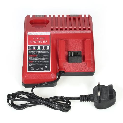 ミルウォーキーM12 M18バッテリーパックAC110-230V用交換リチウムイオンバッテリー充電器電動工具リチウムイオンバッテリー充電器