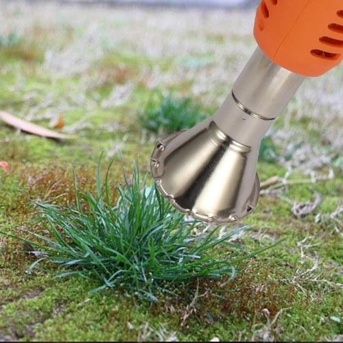 2000W 110-240V 50Hz 50-600℃ Multifunctional Handheld Electric Weedburner Grass Weeder Hot Air Weed Killer Device with Plug Garden Tools
