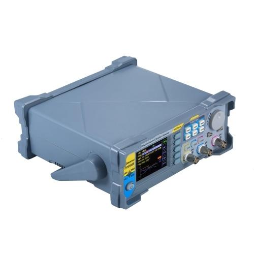 KKmoon Генератор сигналов 60 МГц Высокоточный цифровой DDS Трехканальный генератор сигналов Функциональный сигнал / генератор сигналов произвольной формы Источник импульсного сигнала 250 мСа / с Частотный измеритель частоты VCO Генератор AM / PM / FM / ASK / FSK / PSK Генератор функции DDS Источник источника сигналов фото