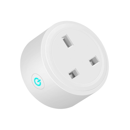Mini WiFi Smart Socket UK Plug Outlet Timing ON/OFF Energy Monitoring