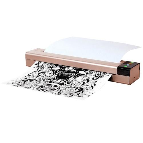 Stampante termica per fotocopiatrici con mini porta USB per trasferimento di tatuaggi Stampante compatibile con dispositivo di telefonia mobile e computer