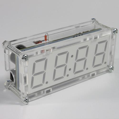DIY-4-stellige LED elektronische Schaltuhr Kit