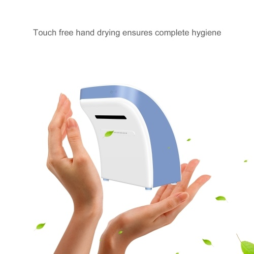 Automatic Hand Foot Dryer with HEPA Filter High Speed Air Blower Hot Air Cold Air Hand Drying Machine Non-wall-mounted No Drilling Quick Drying Hand D