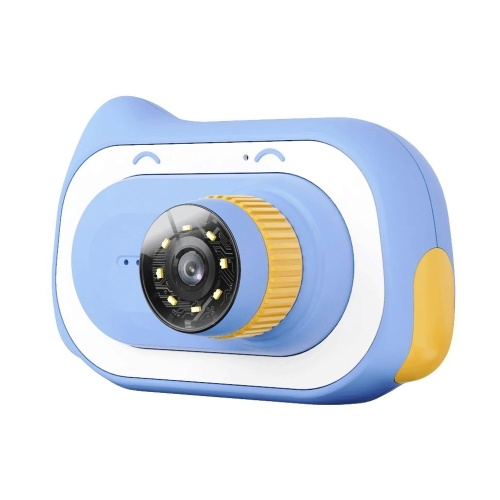 2 Inch Display 15 Million Pixels 0X-200X Zoom Children Science Education High-definition Microscope Early Education Biological Science Portable Magnifying Glass Kid Macro Camera