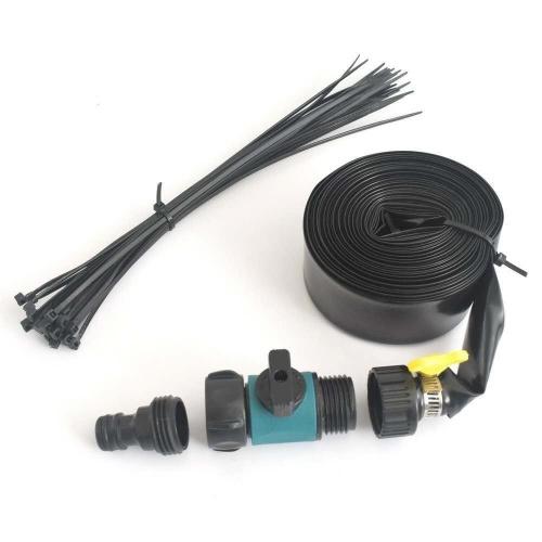 Outdoor PVC Trampoline Sprinkler Water Sprayer Garden Watering Floor Car Cleaning Device