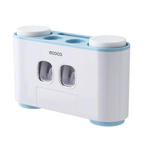 ecoco Автоматический набор зубной пасты Squeeze Настенный держатель зубной щетки