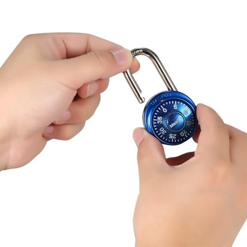 Master Lock Combination Lock Padlock Cabinet Lock Storage Units Lock Luggage Backpack Lock Blue