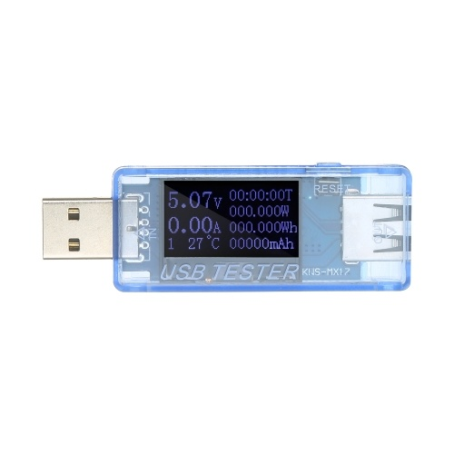 8 in1USBテスターマルチメーター多機能QC2.0USBメーター電流電圧容量エネルギーパワーモニター検出器電圧計電流計