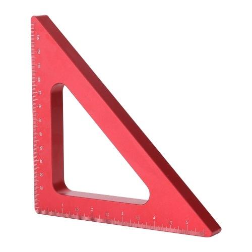 木工用直角定規アルミニウム合金高さ定規メートルインチ高さ定規木工用直角定規測定ツールキット