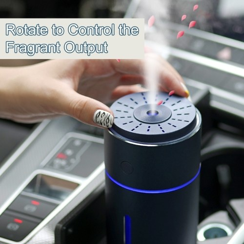 Professional Car Air Humidifier Aroma Diffuser Car Purifier Air Freshener Vehicle-mounted Aromatherapy Humidifier with Colorful Night Light Dry Burnin
