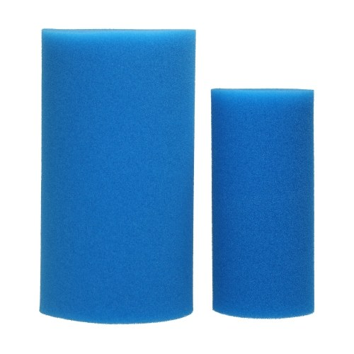 KKmoon Swimming Pool Foam Filter Sponge Reusable Washable Cartridge Filter for Swimming Pool Aquarium Replacement for Type A Filter Blue 26.5*15*13.5cm 3PCS/Pack
