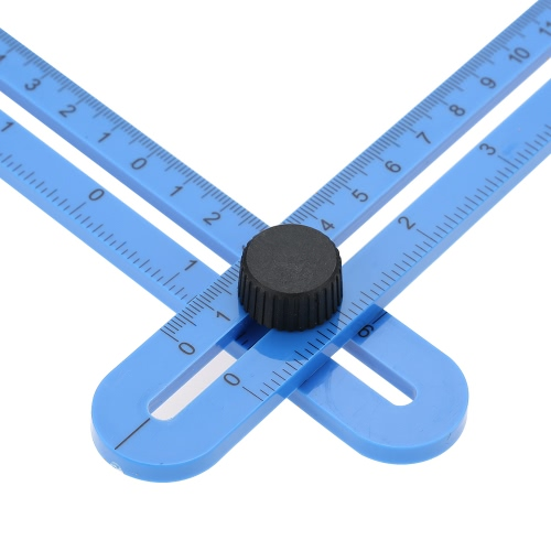 Multi-Angle Ruler Template Tool