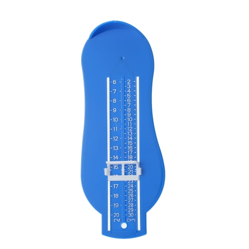 キッズの足の長さの幅の測定ゲージ幼児のハンディベビーシューズのサイズルーラーの子どもたちは、ツールフィッティングデバイスを測定する