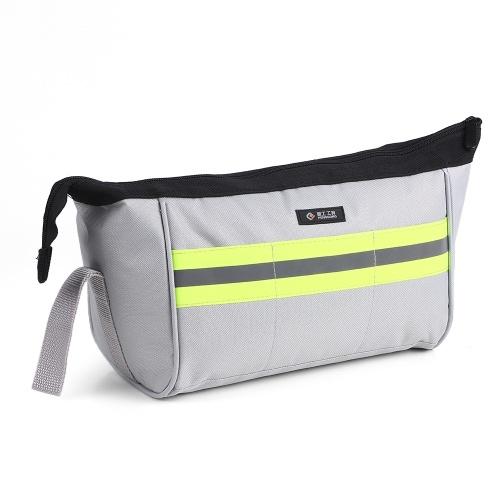 Tasche portaoggetti PENGGONG Tasche portaoggetti Borsa organizer Borse Oxford Zipper per tela Indossabili e impermeabili per accessori Parti Piccoli utensili