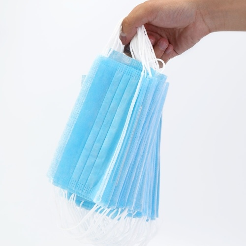 50pcs Non-woven Disposable Dustproof Masks Breathable Anti-haze and Anti-virus Masks