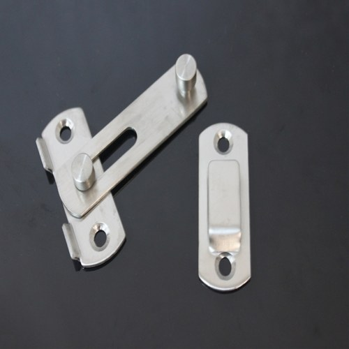 Stainless Steel Door Hasp Latch Gate Latches Flip Latch Safety Door Lock