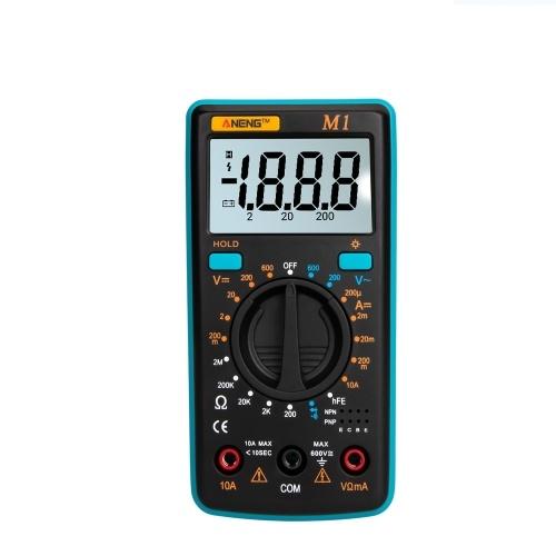 Retroilluminazione LCD multimetro digitale portatile ANENG M1
