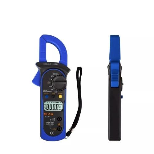 Цифровой мультиметр с зажимом ANENG ST201 4000 считает амперметры с зажимом