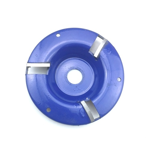 Tridentate Arc Polishing disc Wooden Tea Tray Blade Wood Carving Disc Tool Angle Grinder Milling Cutter Tungsten Steel Blade Polishing disc 16mm Blue
