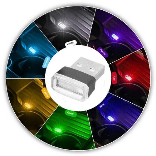 Mini USB flexible LED luz azul