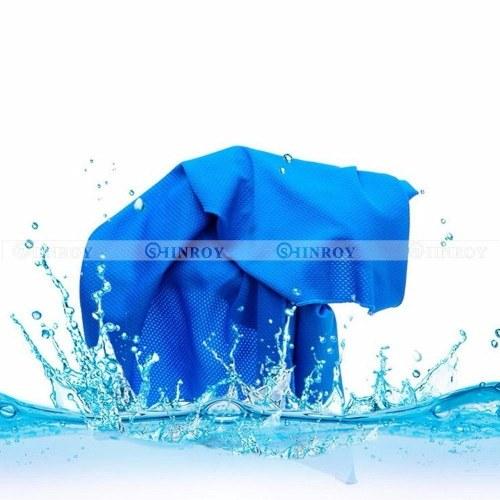 Мгновенное охлаждающее полотенце Многоразовое холодное прохладное спортивное беговое спортивное полотенце для бега фото