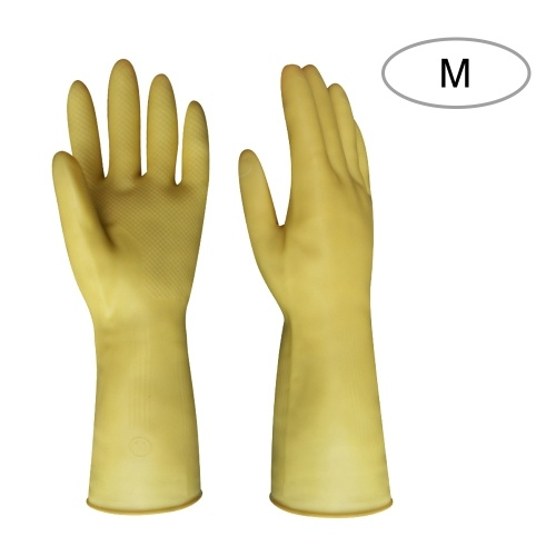 Household Cleaning Gloves Dish Washing Kitchen Glove Long Sleeves Thick Latex Glove Working Painting Gardening Gloves