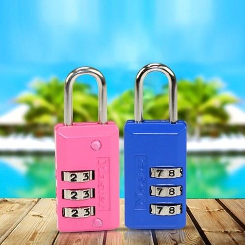 Master Lock Combination Padlock Small Padlock Set Your Own Combination Luggage Backpack Lock Storage Cabinet Lock