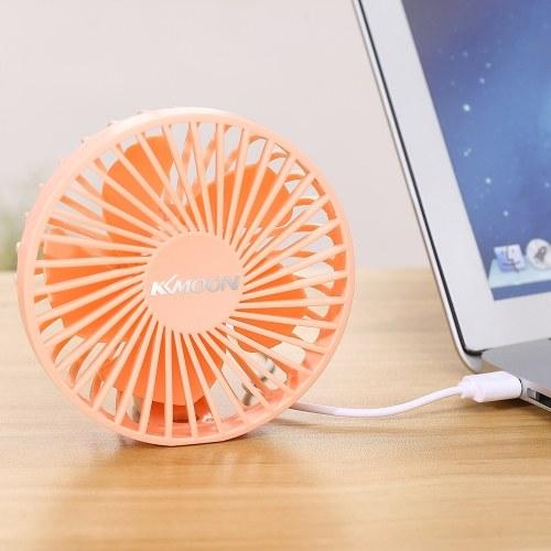 KKmoon Mini USB Fan Portable Low Noise Fan Coolfan USB Powered
