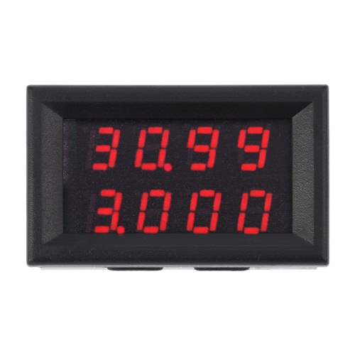 High Precision Digital LED Dual Display DC Voltage Current Meter Voltmeter Ammeter 0-33.00V 0-999.9mA-3A