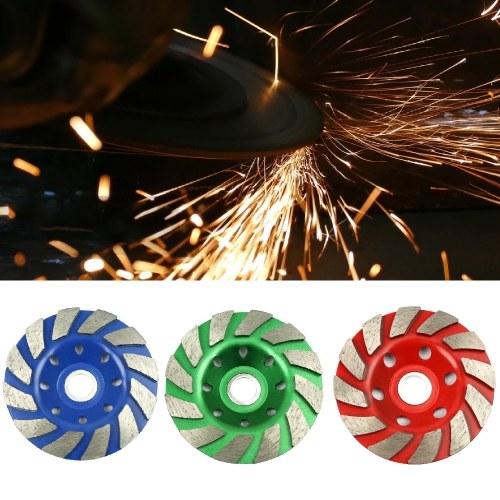 4in Diamond Segment Grinding Wheel Angle Grinder Disc for Granite Stone Marble Masonry Concrete Cut