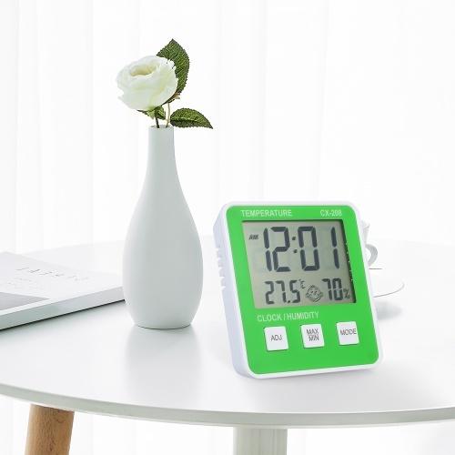 Higrómetro termómetro digital de interior para