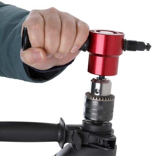 Doble hoja de metal Nibbler Cutter 360 grados accesorio de taladro ajustable herramienta eléctrica accesorios herramientas de corte